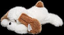 Мягкая игрушка Алина Собака Тузик 90 см белый