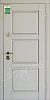 """Двері вхідні внутрішні """"Білоруський стандарт ПРОВАНС 5  макиато супермат 02-0,35, Термопал , праві """"2040*880мм"""