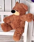 Мягкая игрушка медведь  Бублик 77 см коричневый, фото 2