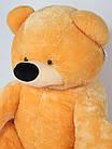 Плюшевый Медведь Бублик 110 см медовый, фото 2