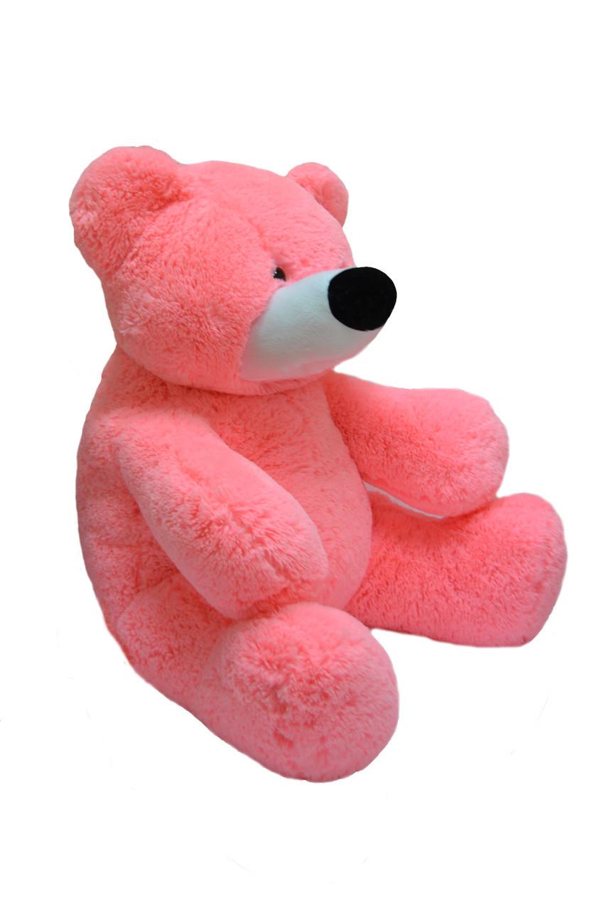 Большой мишка Бублик 140 см розовый