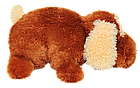 Подушка Алина собачка Шарик 55 см коричневый, фото 2