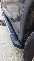 Боковые площадки RedLine V1 (2 шт., алюминий) - Dacia Dokker 2013+ гг.