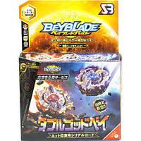 Бейблейд Трансформер Солнце и Луна 4 сезон (BEYBLADE Sun And Moon God Duo B-00) с пусковыми устройством