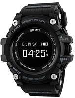 Мужские умные часы Skmei 1188 Smart Pulse. Наручные электронные смарт часы  с пульсомером