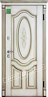 """Двері вхідні зовнішні """"Білоруський стандарт Леді"""" дуб Ценамон 1101-07.Тер.+П ,  """"2040*880мм"""