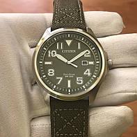 Часы Citizen Eco-Drive AW1410-32X(16X) Military Green, фото 1