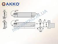 Сменный отрезной нож AKL-I-26-3 под  пластину DGN 30 AKKO