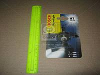 Лампа накаливания 12V 55W H7 PURE LIGHT blister 1 шт, Bosch 1 987 301 012