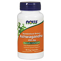 Адаптоген Now Foods - Ashwagandha 450 мг (90 кпасул) (ашвагандха)
