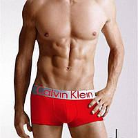 Мужское нижнее белье C Klein STEEL Кельвин Кляйн трусы боксеры шорты на широкой резинке модал реплика