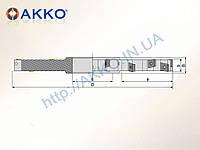 Фреза дисковая трехсторонняя ASDM-CC09-D80x14-d27-Z08 под пластину CCMT 09T3.. AKKO