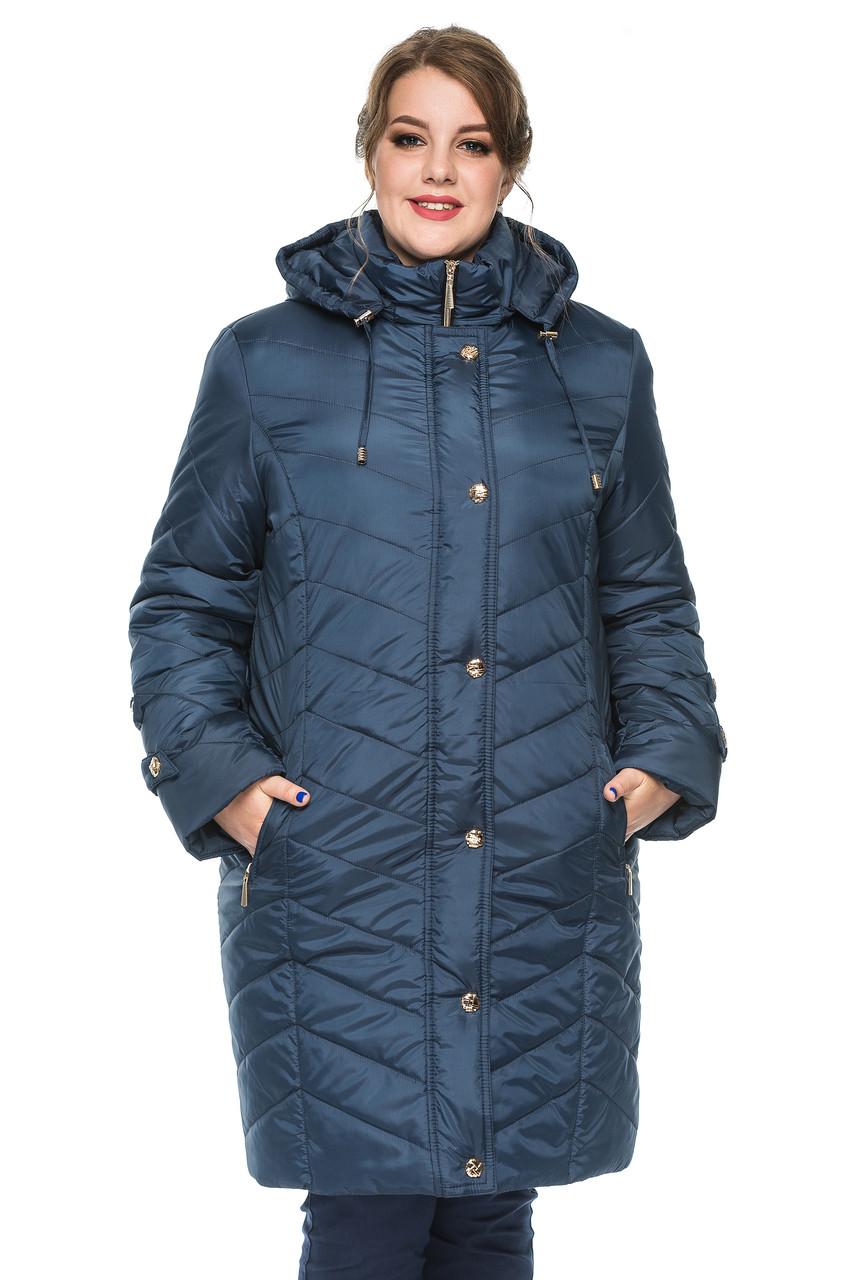 Женская зимняя куртка Kariant Инесса 50 Синий