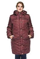 Женская зимняя куртка Kariant Инесса 60 Бордо, фото 1