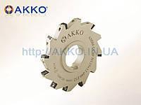 Фреза дисковая трехсторонняя ASDM-CC06-D125x10-d40-Z14 под пластину CCMT 0602.. AKKO