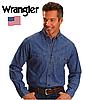 Мужская джинсовая рубашка Wrangler®(США) (М) /100% хлопок /Оригинал из США