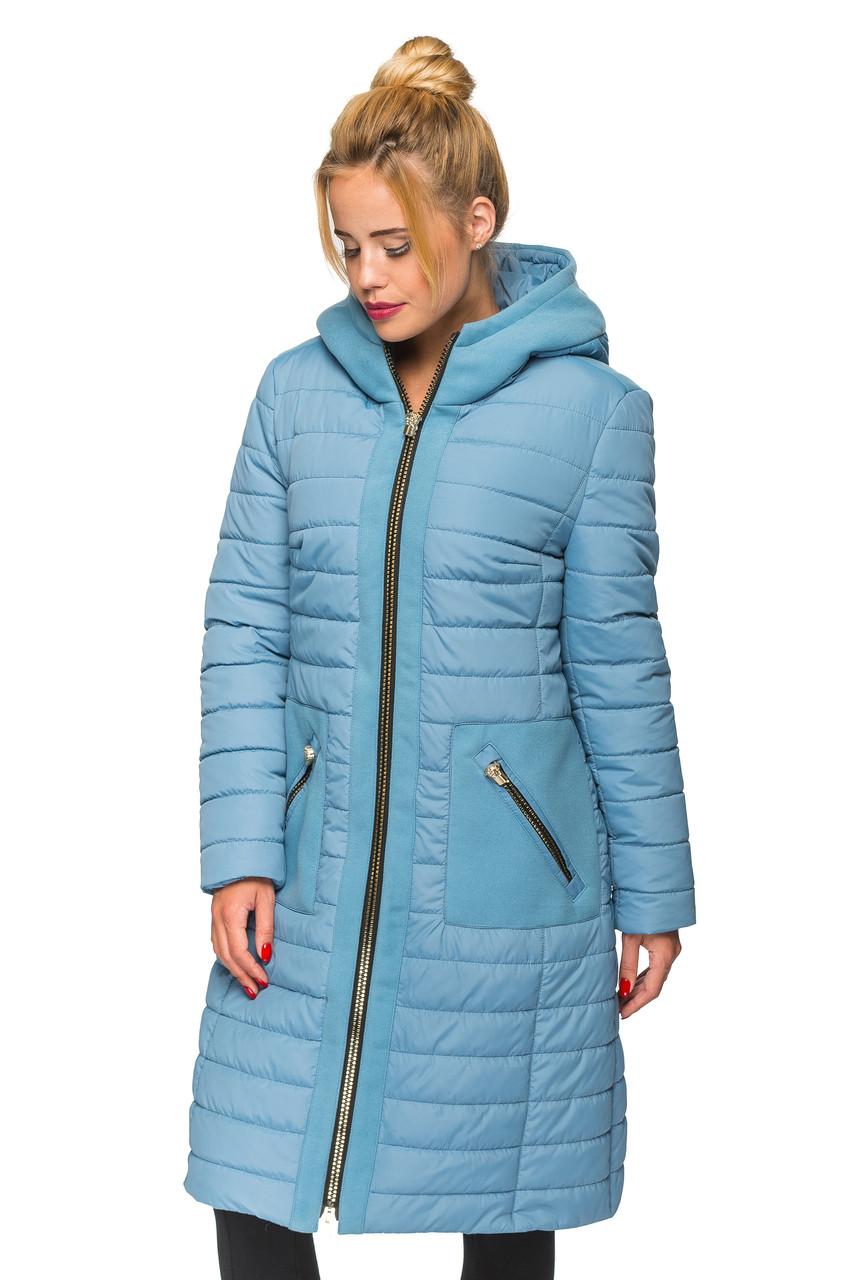Женская зимняя куртка Kariant Эмма 44 Голубой