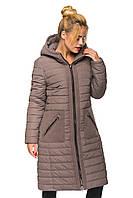 Женская зимняя куртка Kariant Эмма 48 Мокко, фото 1
