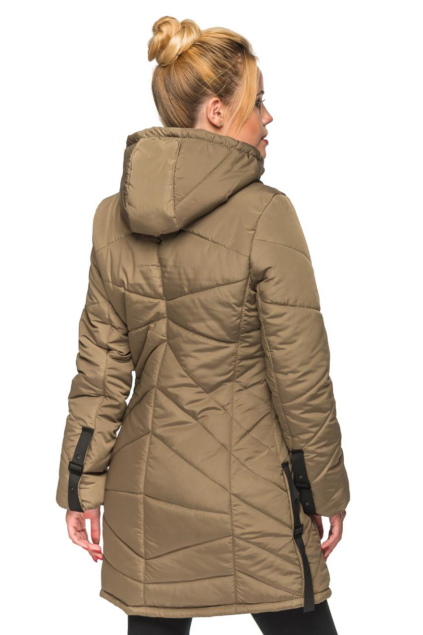 96dc192c172 Женская зимняя куртка Kariant Амина 48 Хаки - купить по лучшей цене ...