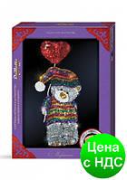 Картина-мозаика из пайеток от Danko Toys в декорированной рамочке (10) MAXI