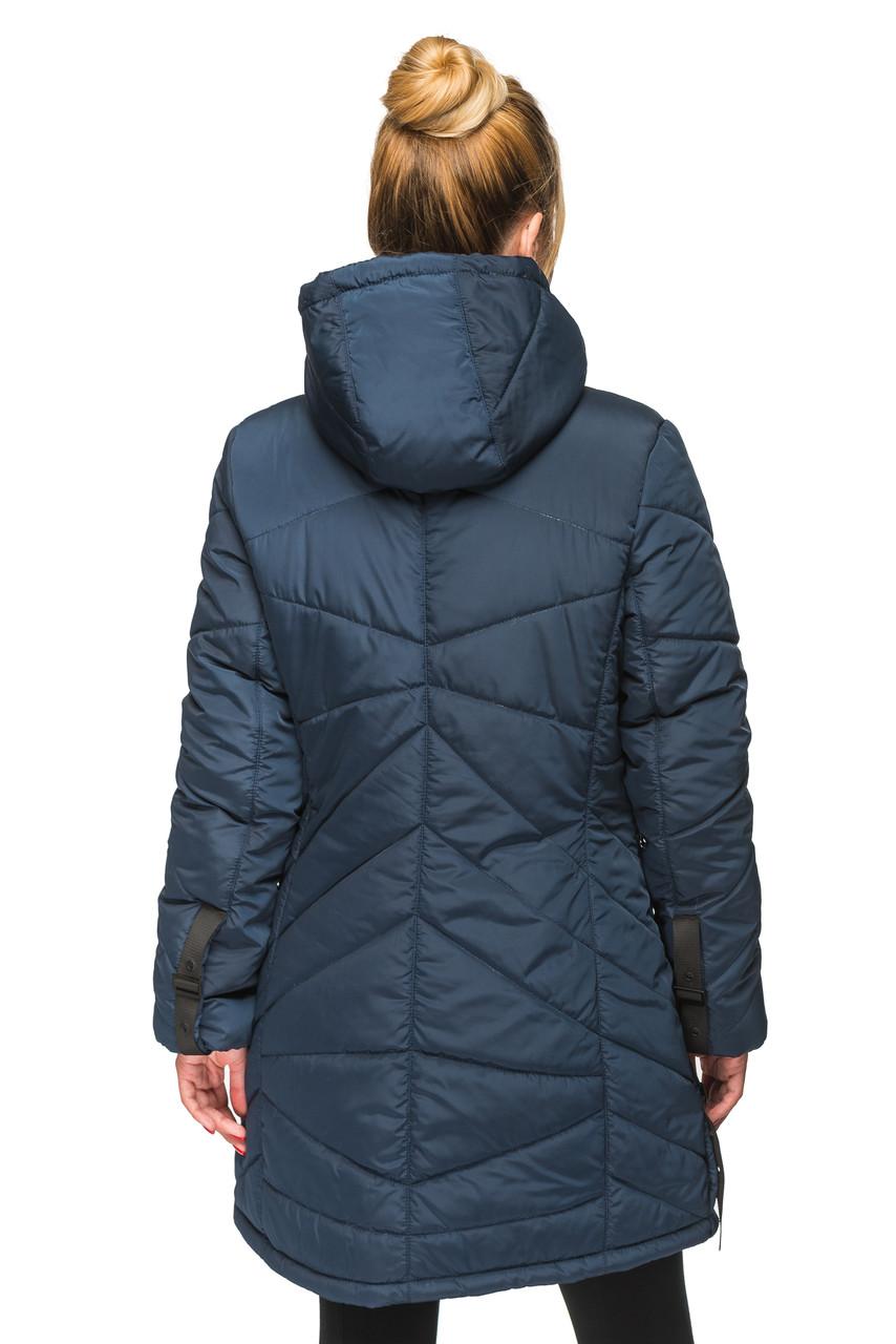 45943618e9c Женская зимняя куртка Kariant Амина 48 Синий - купить по лучшей цене ...
