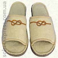 Тапочки войлочные с вышивкой (40-42) 2462-04
