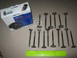 Комплект клапанов ВАЗ 2112 впуск/выпуск 16 шт., АвтоВАЗ 21120-100701086