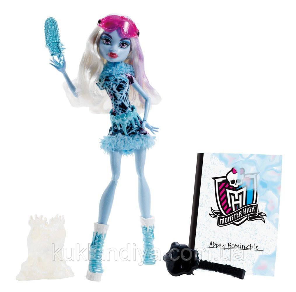 Кукла Эбби Арт класс Monster High - Art Class Abbey Bominable