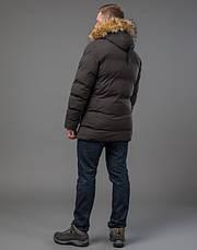 Tiger Force 72160 | куртка зимняя мужская теплая кофе, фото 3