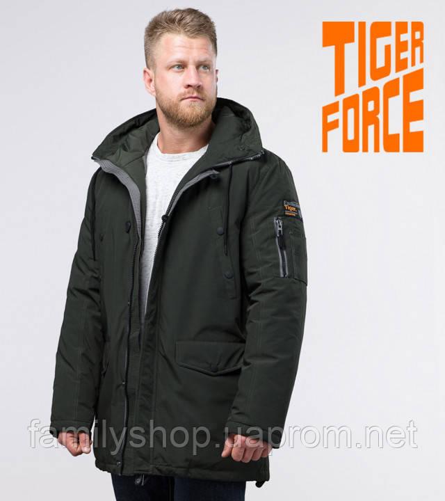 Tiger Force 54120 | зимняя парка мужская темно-зеленая