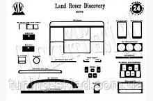 Накладки на торпеду Land Rover Discovery II (декор панели Лэнд Ровер)