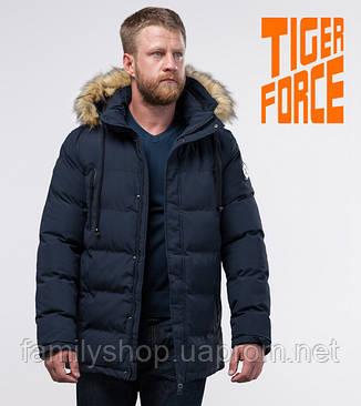 Tiger Force 70450   мужская зимняя куртка темно-синяя, фото 2