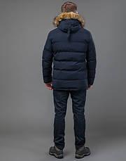 Tiger Force 70450   мужская зимняя куртка темно-синяя, фото 3
