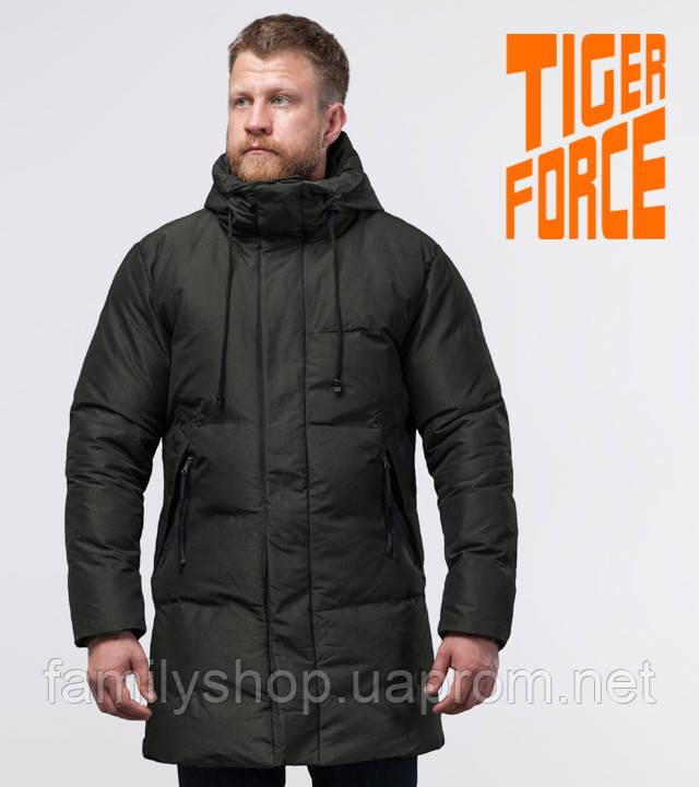 Tiger Force 51270 | зимняя куртка мужская темно-зеленая