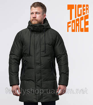 Tiger Force 51270 | зимняя куртка мужская темно-зеленая, фото 2