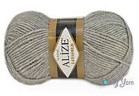 Alize Lana Gold, Меланж серый №21
