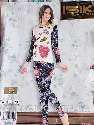Комплект домашний женский  кофта+ лосины размер M-XL, купить оптом со склада 581f6a5b078