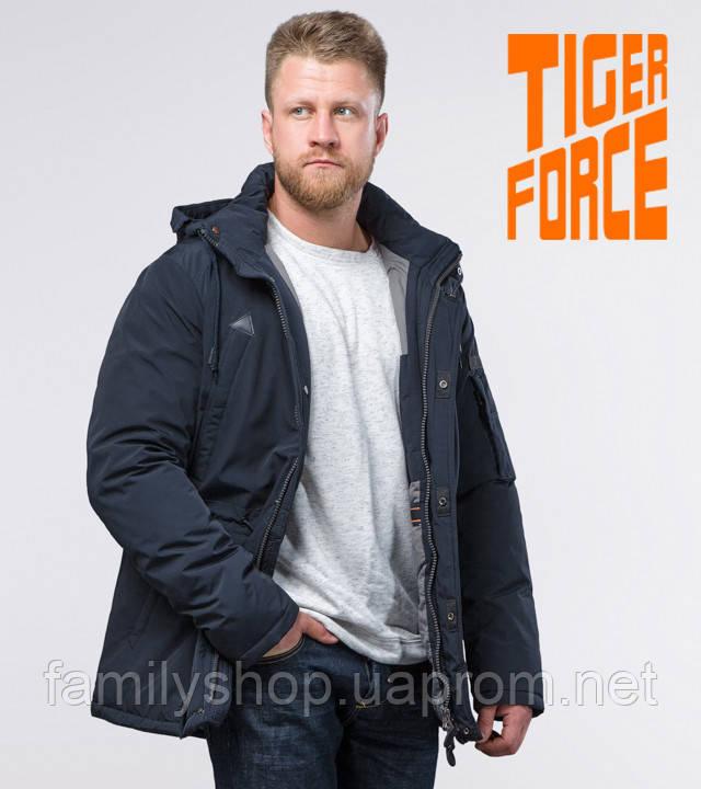 Tiger Force 71360 | мужская зимняя парка темно-синяя
