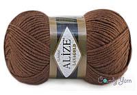 Alize Lana Gold, коричневый №26