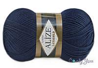 Alize Lana Gold, тёмно-синий №58