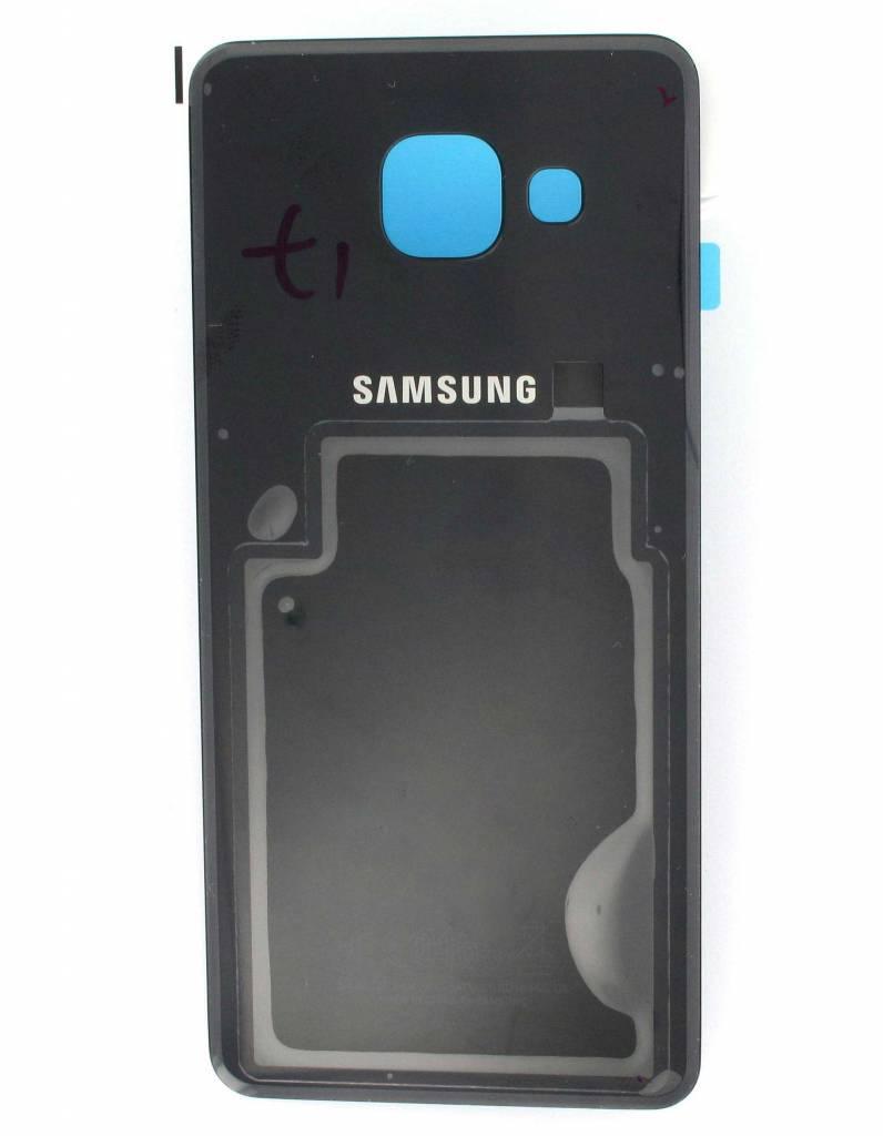 Задня кришка для смартфону Samsung A310F Galaxy A3 (2016) чорного кольору