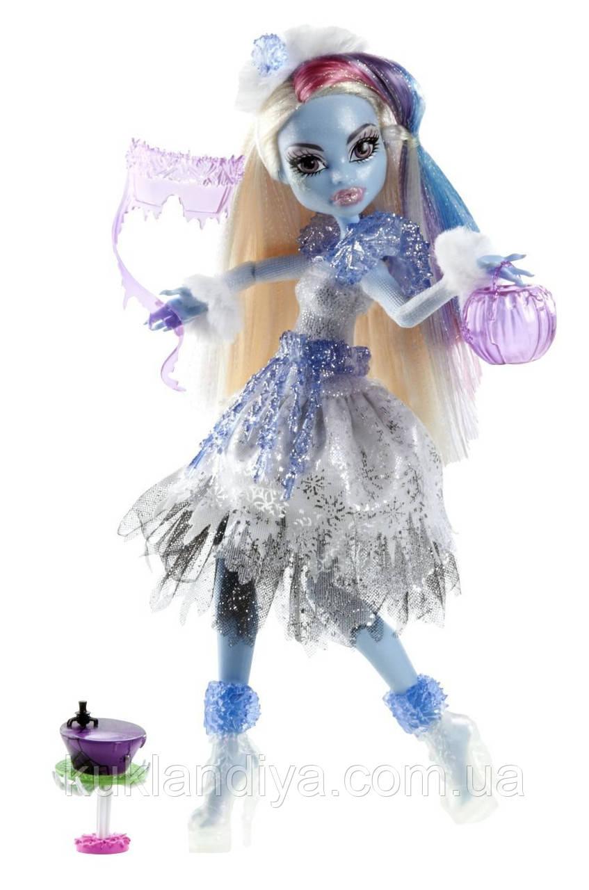Кукла Monster High Эбби Боминейбл Ghouls Rule Abbey Bominable