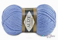 Alize Lana Gold, голубой №40