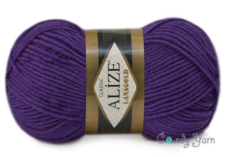Alize Lanagold, сливовый №111