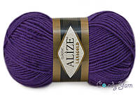 Alize Lana Gold, сливовый №111