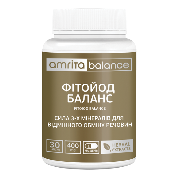 Источник йода в природной форме Фитойод Баланс, 30 капс.