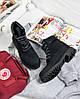 """Женские зимние ботинки Timberland """"Black"""" (в стиле Тимберленд) , фото 6"""