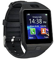 Умные часы DZ09 Black с Sim-картой, Bluetooth, камерой и сенсорным экраном. Смарт часы (smart watch) Uwatch