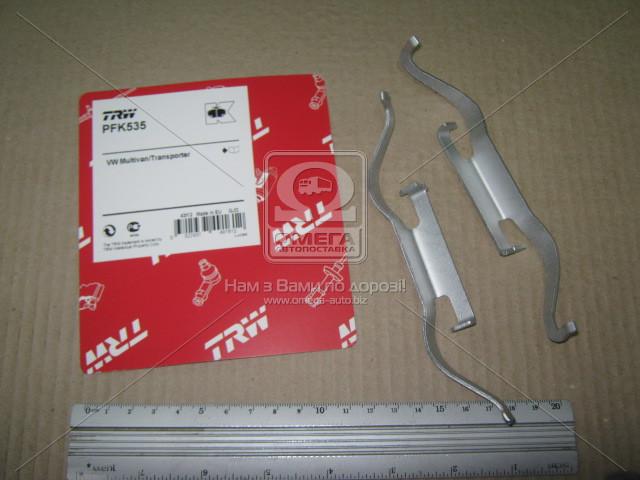 Колодка торм. компл. монтажный VW T5 передн., TRW PFK535