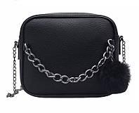 Стильная женская сумка клатч черная